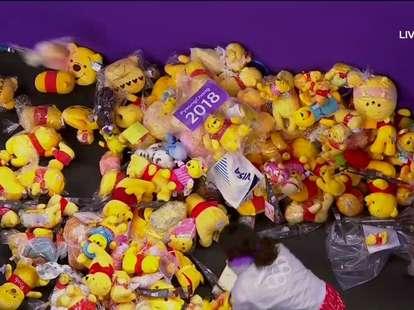 Yuzuru Hanyu why winnie the pooh