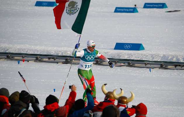 Mexican Olympic Skier Joyously Finishes Last, Gets a Champion's Applause