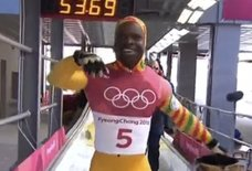 Last-Place Olympic Skeleton Racer's Joyous Dance Will Make Your Day