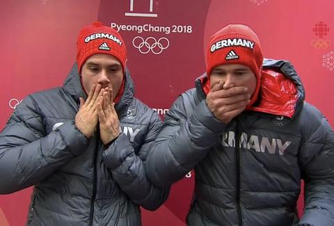 German Bobsled Crash