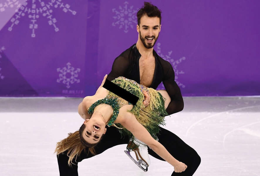 Olympic french ice dancers