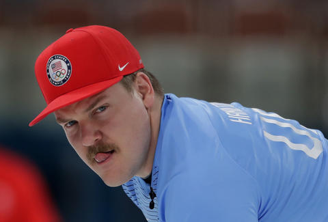 men's curling meme matt hamilton