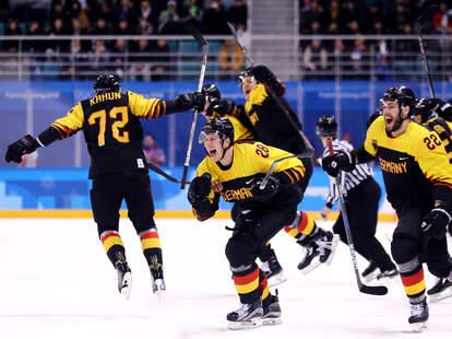 germany hockey upset olympcs