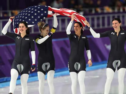 team usa speed skating uniform crotch