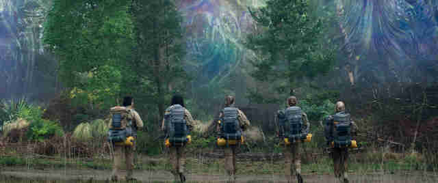 annihilation movie 2018