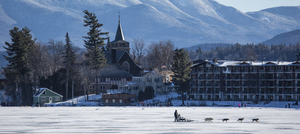Go to Lake Placid, Where the Olympics Never End