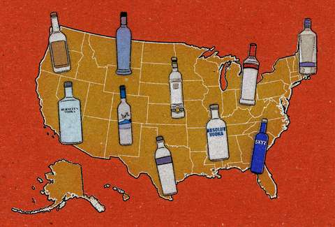 Top Vodka Brands in the U S  - Thrillist