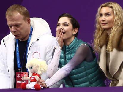kiss and cry figure skating
