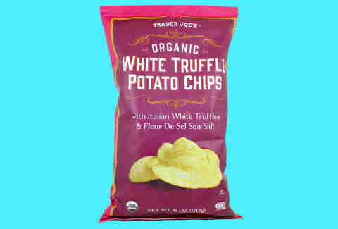 white truffle potato chips