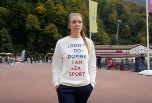 Russian Olympian Who Wore Anti-Doping Shirt Tests Positive for Banned Drug