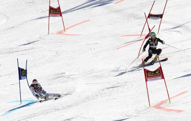 All of Your Biggest Questions About Mixed Team Alpine Skiing, Answered