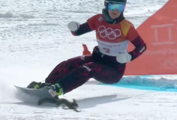 Watch This Daring Squirrel Flirt With Death During Slalom Snowboarding