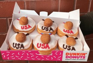 Dunkin' Donuts Is Now Selling Glorious Team USA Donuts