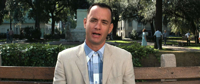 Forrest Gump 1994 movie starring Tom Hanks