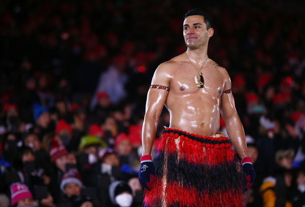 The Shirtless Tongan Guy Is Pursuing a Shirtless Modeling Career