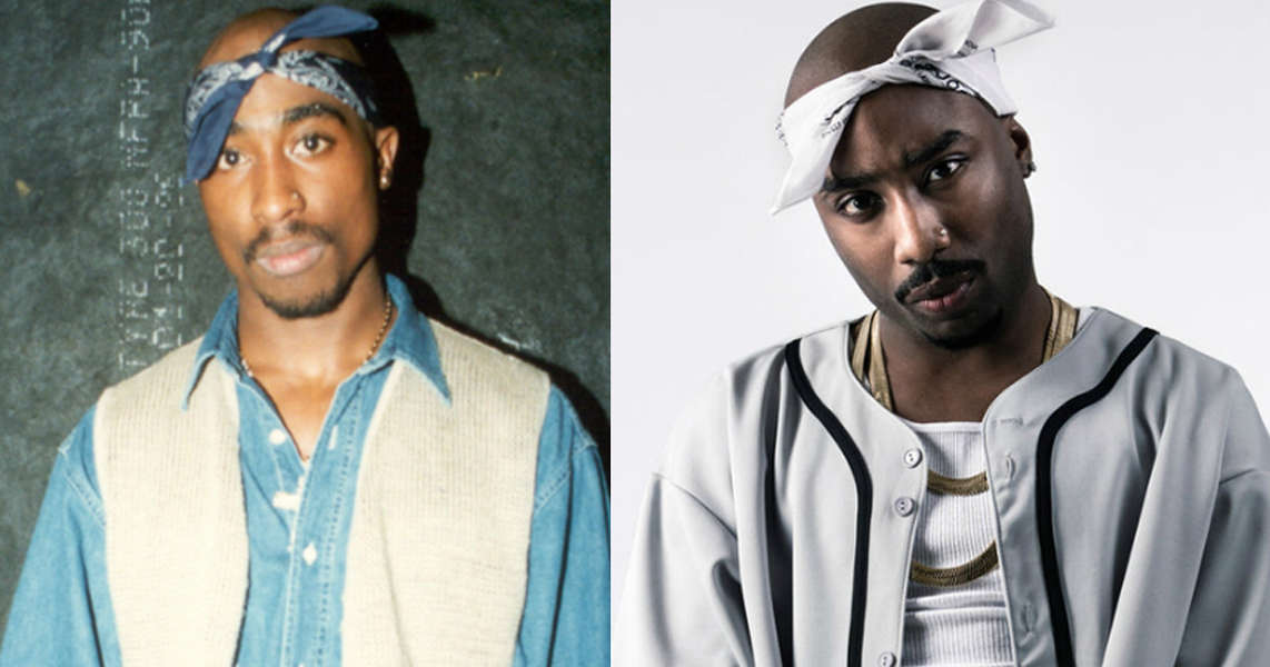 Marcc Rose as Tupac in 'Unsolved'