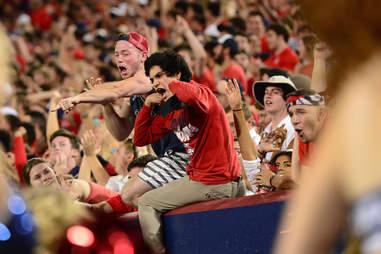 U of A fans
