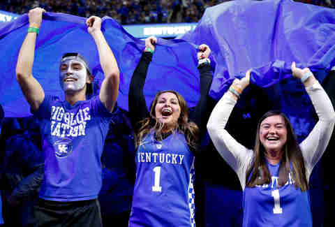 Most Obnoxious College Basketball Fans Ranked Thrillist