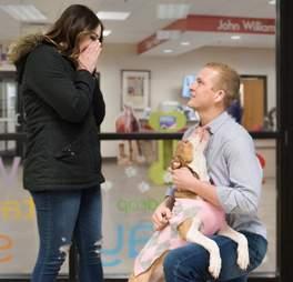 dog adoption proposal engaement iowa