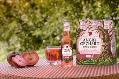 rose cider angry orchard