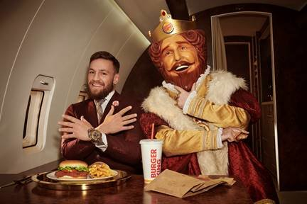 Burger King Ad Starring Conor McGregor Is Full Of UFC Shade