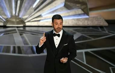 Jimmy Kimmel Oscars 2018