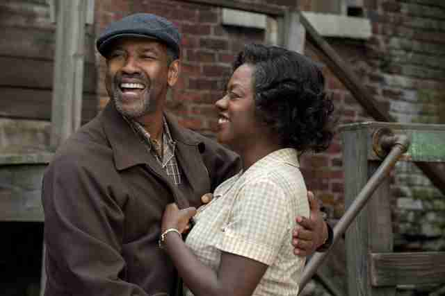 Fences movie denzel washington