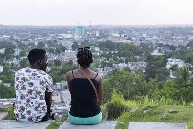 couple sitting