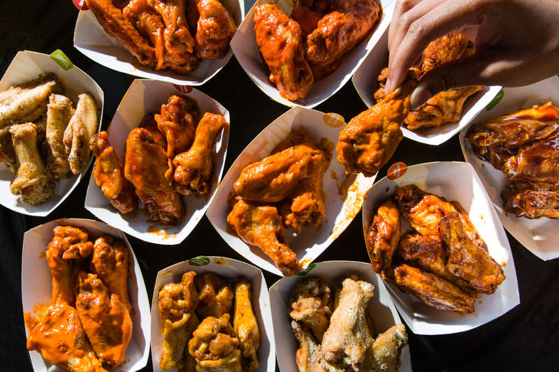 buffalo wings ranked