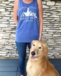 huck roof dog texas
