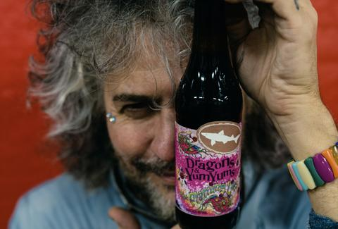 flaming lips beer record