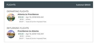 cheap flights in the US