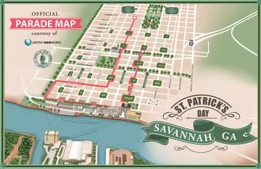 Courtesy of Savannah St. Patrick's Day