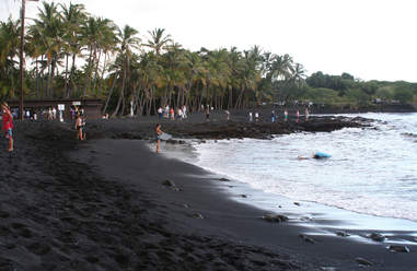 Punalu'u Beach, The Big Island, Hawaii
