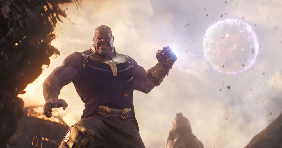 Image result for Thanos ending snap