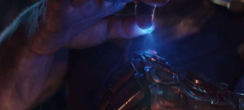 blue space stone infinity gems