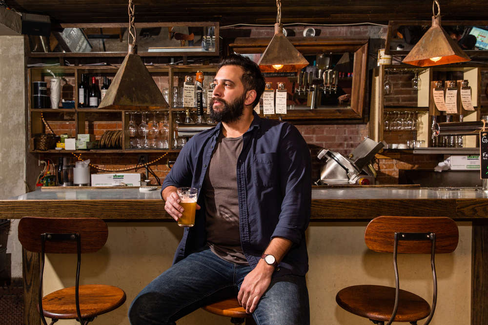 A Guide to Drinking Alone at a Bar - Thrillist