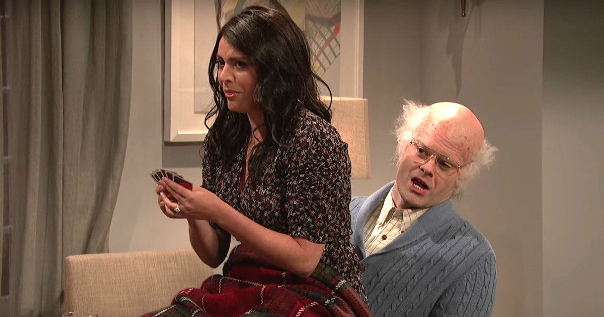 'SNL' Cast Can't Keep It Together in This Bizarrely Funny Game Night Sketch