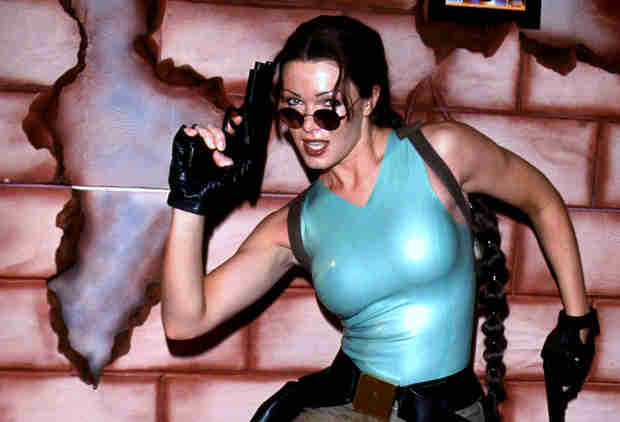 To Become a Real-Life Lara Croft Model, She Had to Look the Part and Play By the Rules