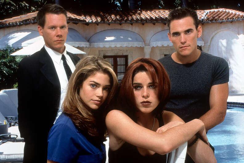Wild Things 1998 erotic thriller cast
