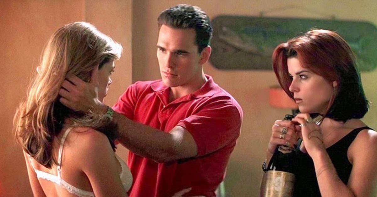 Three way sex matt dillon denise richards
