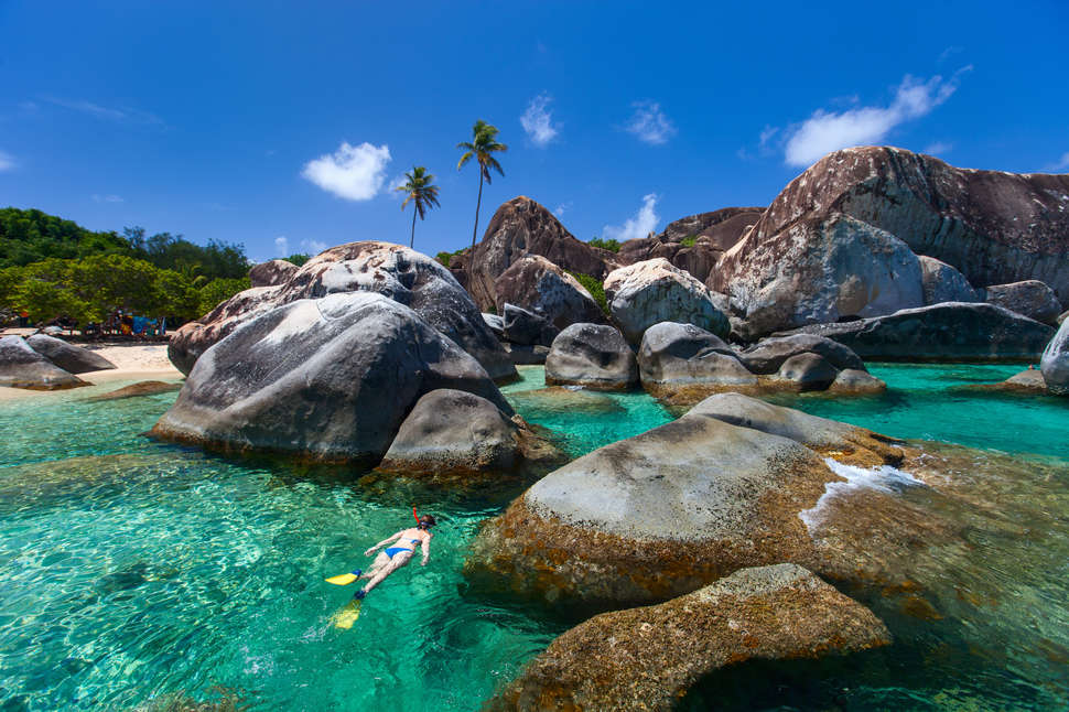 Virgin Gorda British Islands Caribbean