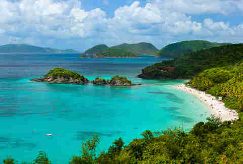 Trunk bay, St. John Island