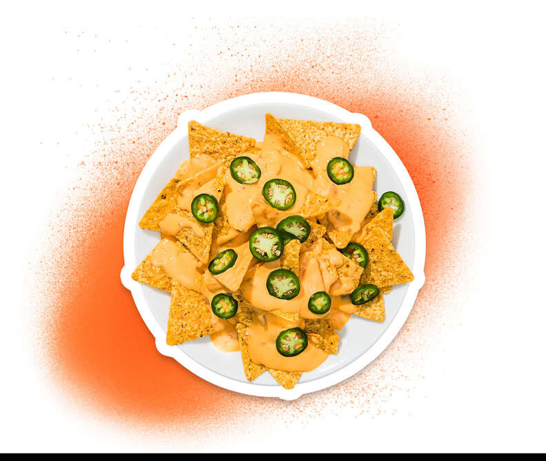 nachos with cheese and jalapenos