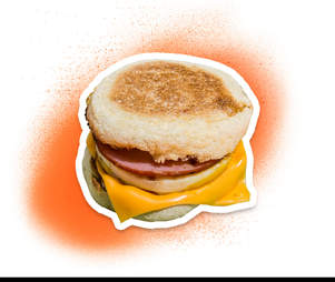 egg McMuffin from McDonald's