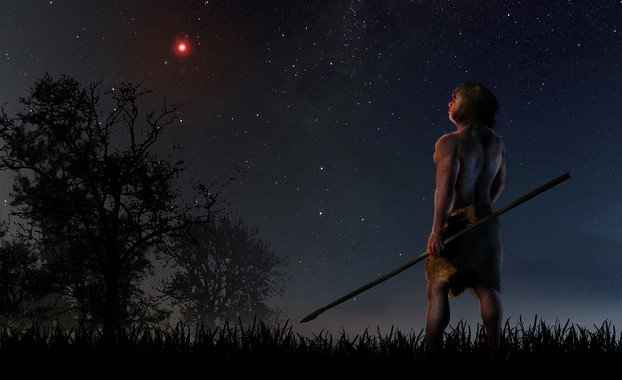 A Star Grazed Our Solar System When Neanderthals and Modern Humans Shared the Earth