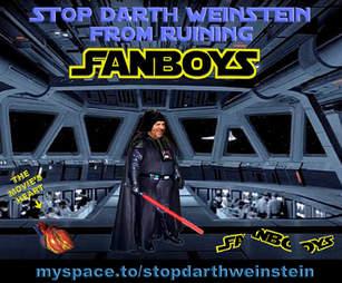 darth weinstein protest campaign