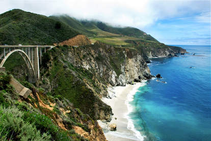 Bixby Bridge on California's Big Sur