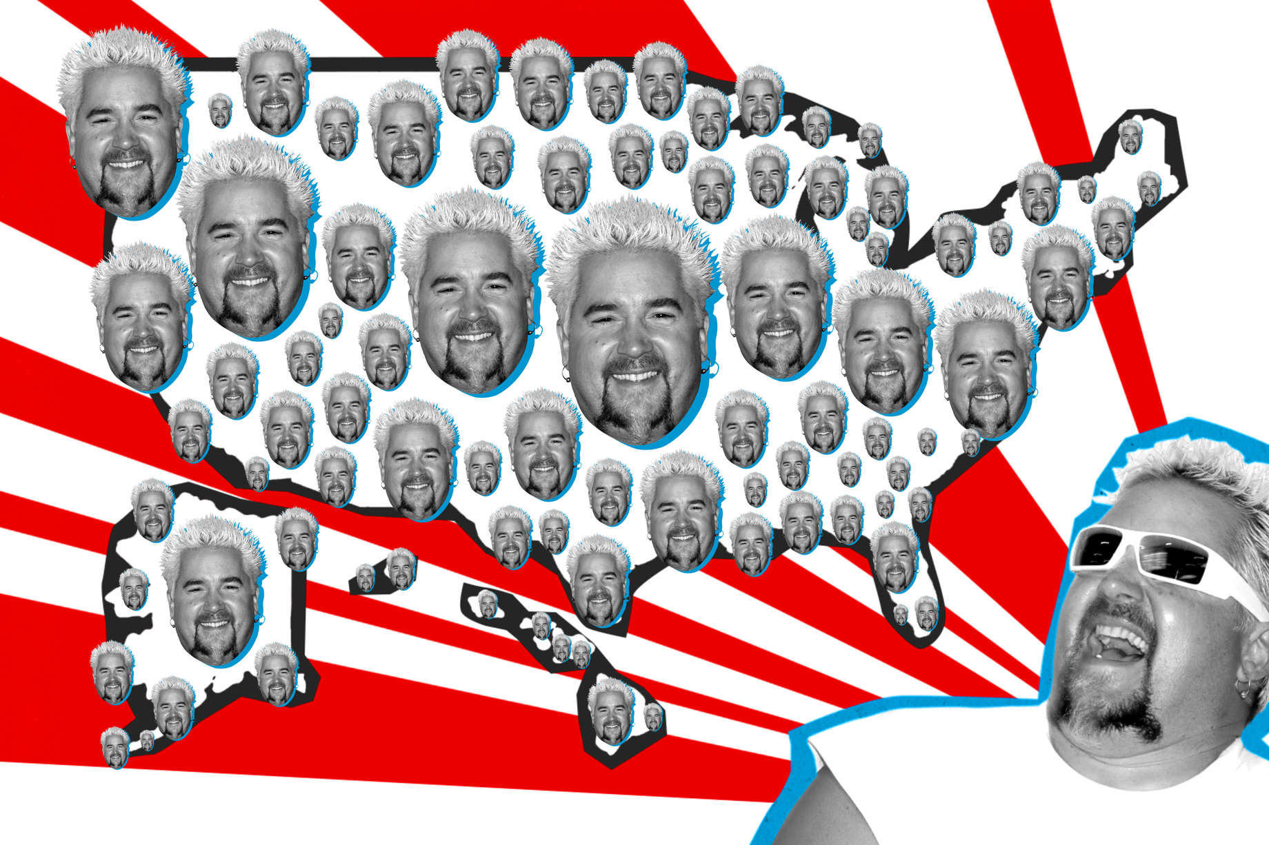 Guy Fieri's Favorite States: Every State, Ranked by Guy ... on