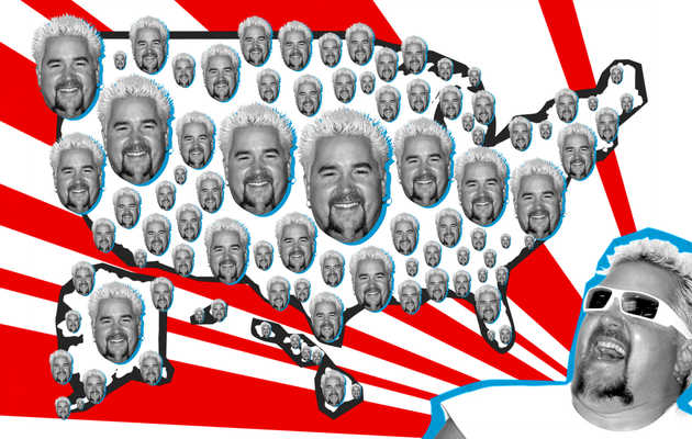 States, Ranked by Guy Fieri's Love for Them
